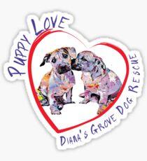 DGDR Puppy Love Sticker