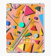 80s pop retro pattern iPad Case/Skin