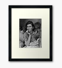 Migrant Mother by Dorothea Lange (1936) Framed Print