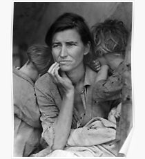 Migrant Mother by Dorothea Lange (1936) Poster