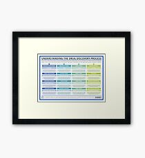 The Drug Discovery Process Framed Print