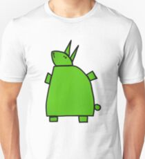 The green rabbit Unisex T-Shirt