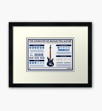 The Chemistry of an Electric Guitar Framed Print