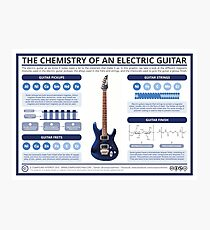 The Chemistry of an Electric Guitar Photographic Print