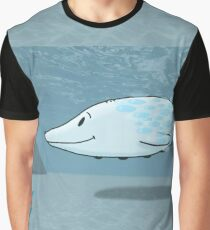Herbert the Snow Whale Graphic T-Shirt