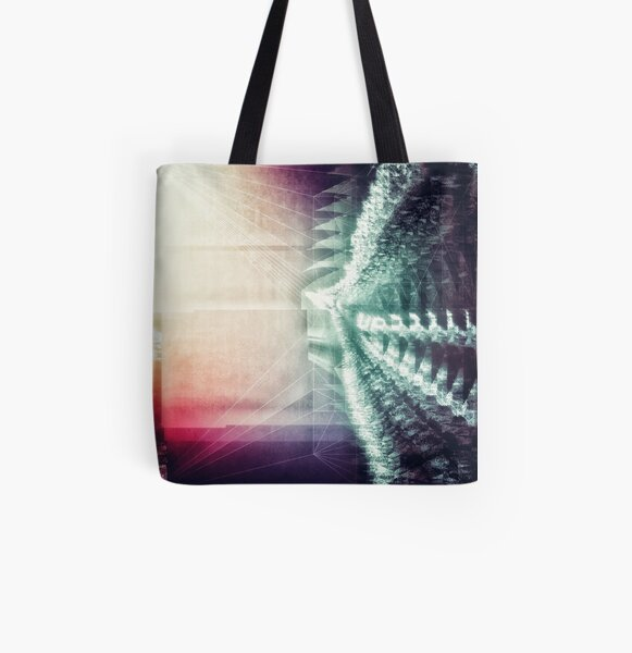 0165 Up All Over Print Tote Bag