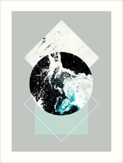 Geometric Textures 2 by Mareike Böhmer
