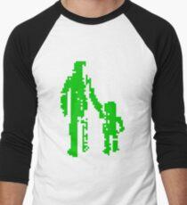 1 bit pixel pedestrians (green) T-Shirt