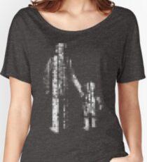 8 bit pixel pedestrians (light) Women's Relaxed Fit T-Shirt