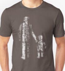 8 bit pixel pedestrians (light) Unisex T-Shirt