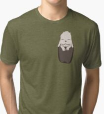 Akamaru in your pocket! Tri-blend T-Shirt