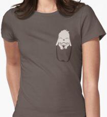 Camiseta entallada para mujer ¡Akamaru en tu bolsillo!