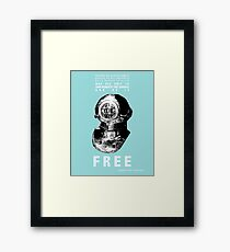 Sink Beneath the Surface Framed Print
