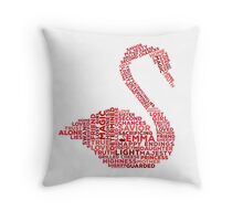 Emma Swan Typography Once Upon A Time Throw Pillow