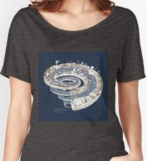 Geologic Period Timeline Women's Relaxed Fit T-Shirt