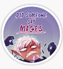 Did someone say Mages? Sticker