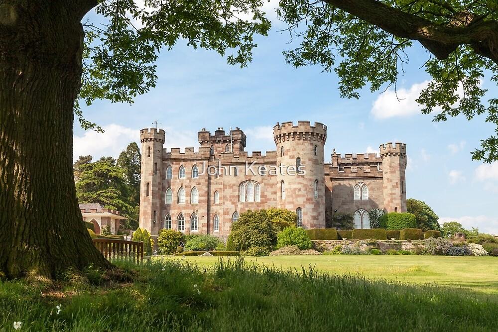 Cholmondeley Castle Cheshire England by John Keates