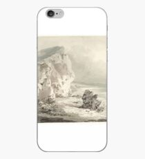 Edward Dayes Title Cliffs in Freshwater Bay, Isle of Wight iPhone Case