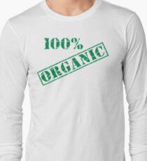 Earth Day 100% Organic Long Sleeve T-Shirt