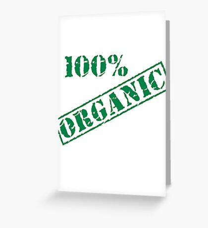 Earth Day 100% Organic Greeting Card