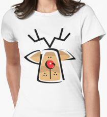 Christmas Reindeer T-Shirt T-Shirt