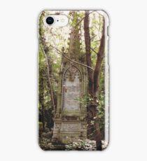 Highgate Cemetery Mears Memorial iPhone Case/Skin