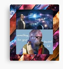 Doctor Who - Osgood: All of Time and Space Canvas Print