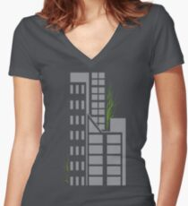 Breath Women's Fitted V-Neck T-Shirt