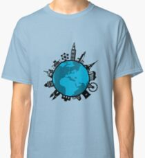 European City Attractions Classic T-Shirt
