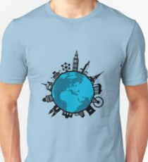 European City Attractions Unisex T-Shirt