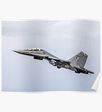 "Sukhoi Su-30MKI ""Flanker-F"" SB167 getting airborne Poster"
