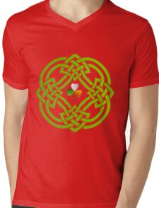 Celtic Knot Mens V-Neck T-Shirt