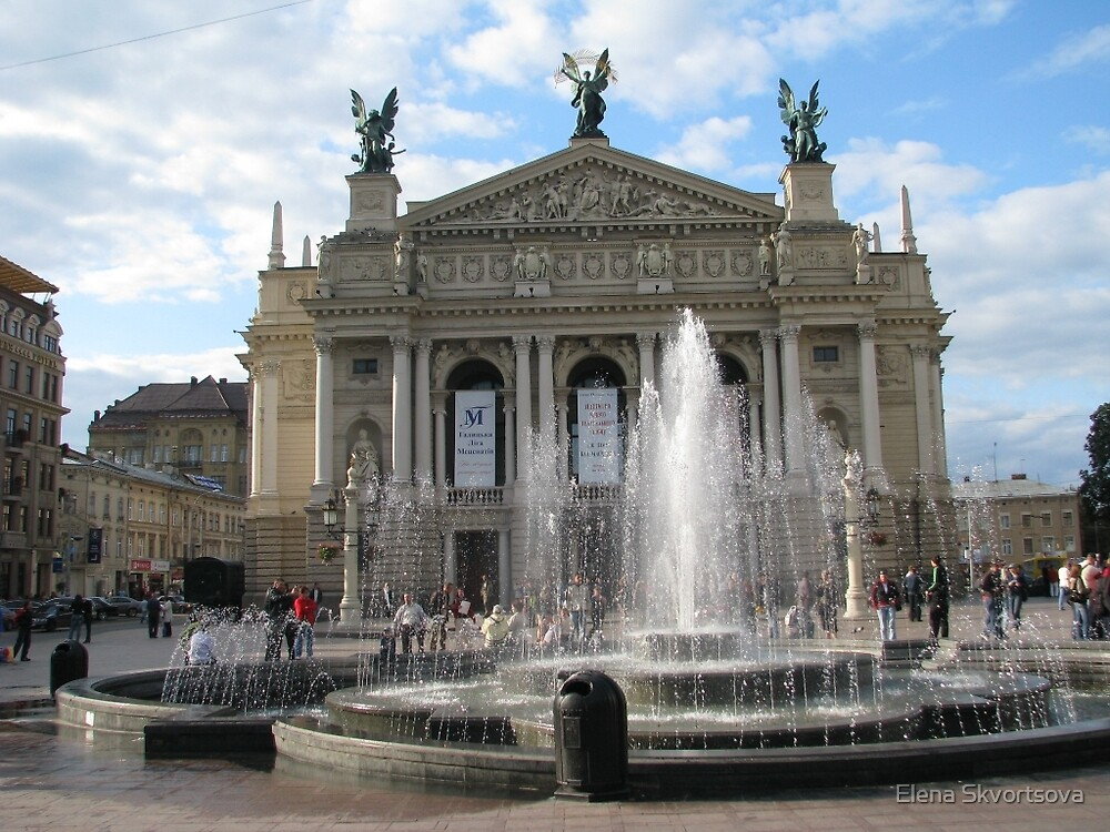 Lvov Opera House by Elena Skvortsova