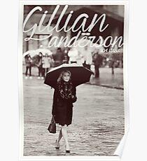 Gillian Anderson - Viva Italia Poster