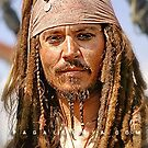 The notorious Captain Jack Sparrow, aka Johnny Depp. by PAGalleria