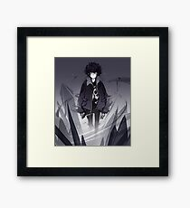 I Control the Shadows Framed Print