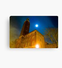 Norwich City Hall at Night, England Canvas Print