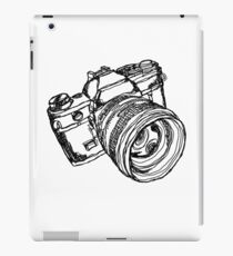 Vintage 35mm SLR Camera Design iPad Case/Skin