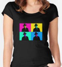 Magneto Pop Art Women's Fitted Scoop T-Shirt