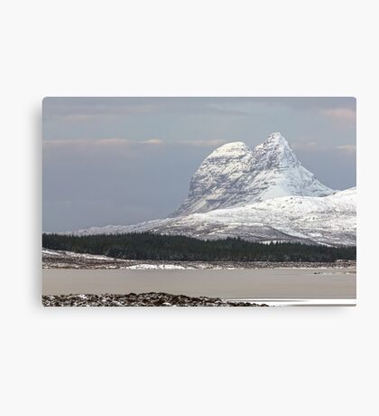 Suilven in Winter Canvas Print