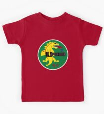 25th Fighter Squadron (red) Kids Tee