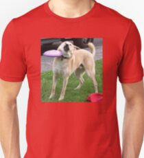 Frisbee Doge Unisex T-Shirt