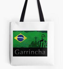 Brazilian soccer player Garrincha Tote Bag