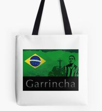 Brazilian soccer player Garrincha Tote Bag