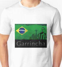 Brazilian soccer player Garrincha Unisex T-Shirt