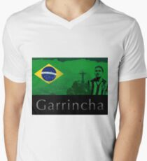 Brazilian soccer player Garrincha T-Shirt