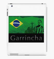 Brazilian soccer player Garrincha iPad Case/Skin