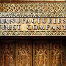 Manufacturer's Trust Brass Door by steeber