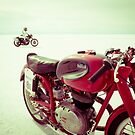 Just Add Salt, Motorcycles and Sun by strayfoto