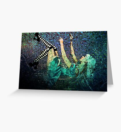 WHEN ALICE FELL Greeting Card